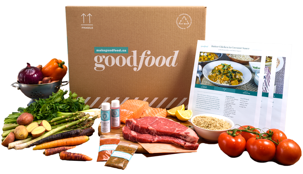 Start cooking with Goodfood!
