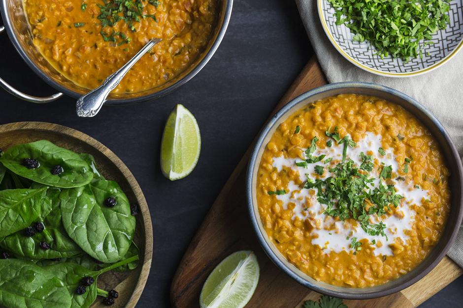 Coconut Curry Lentil Stew