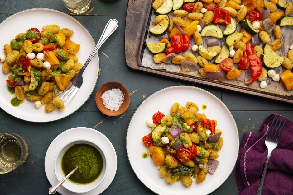 Roasted Harvest Vegetables & Seared Gnocchi