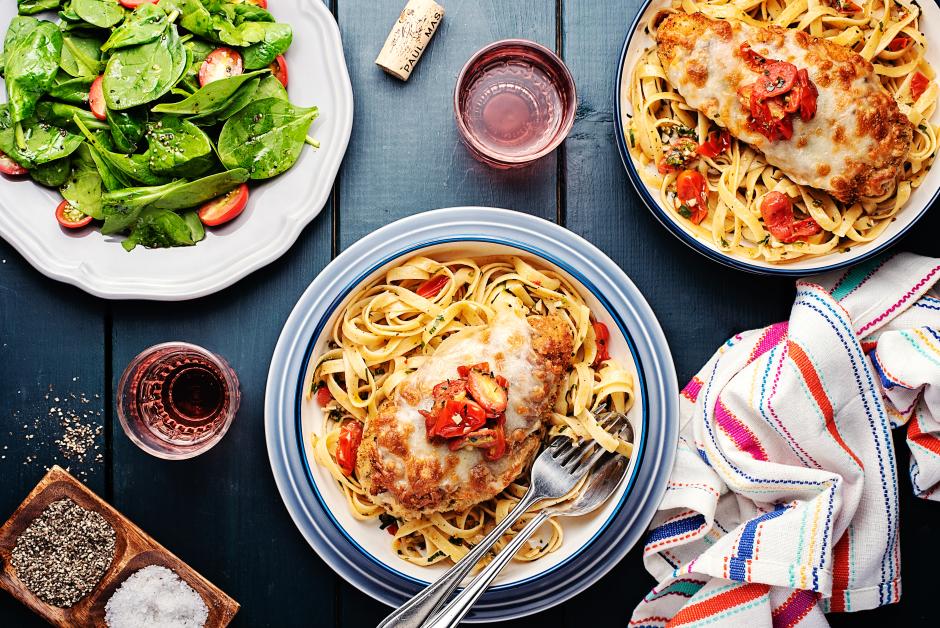 Crunchy Chicken 'Parmesan'