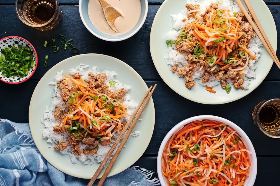 Fragrant Pork Banh Mi Stir-Fry