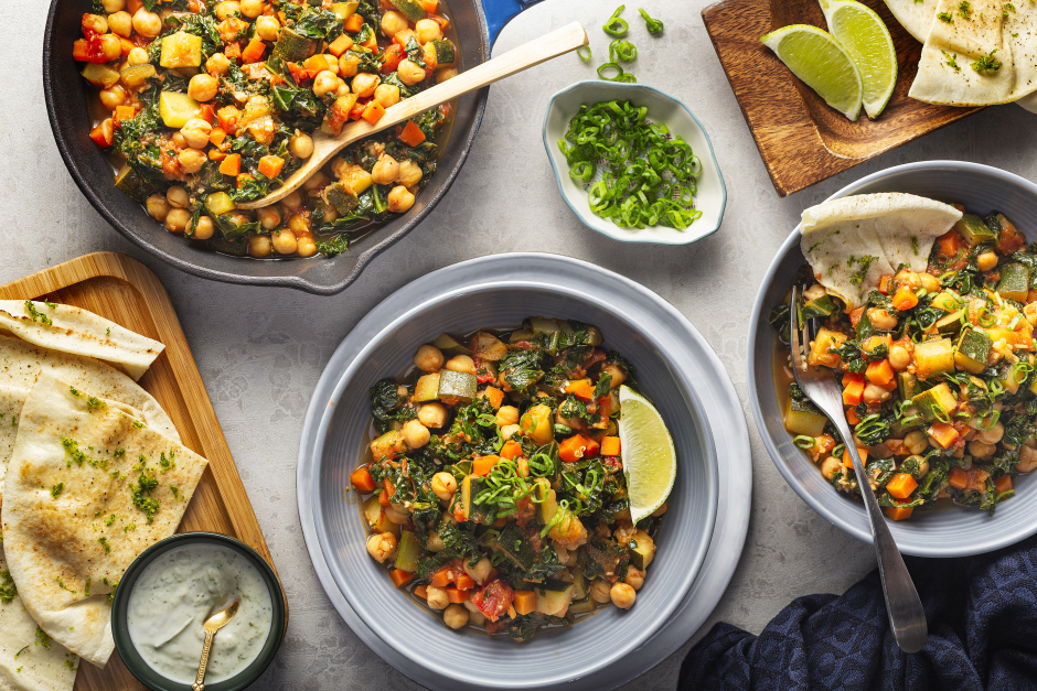 Tunisian-Style Harissa Chickpea Soup