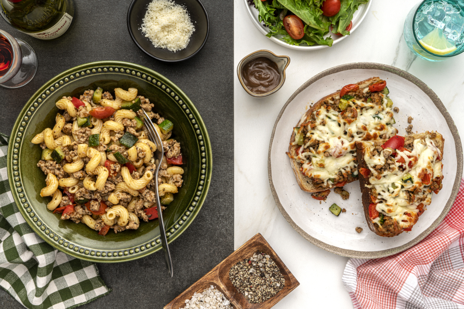 Dinner + Lunch Combo: Browned Ground Pork