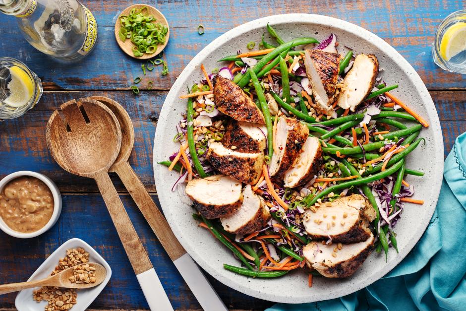 Gado Gado Chicken Salad