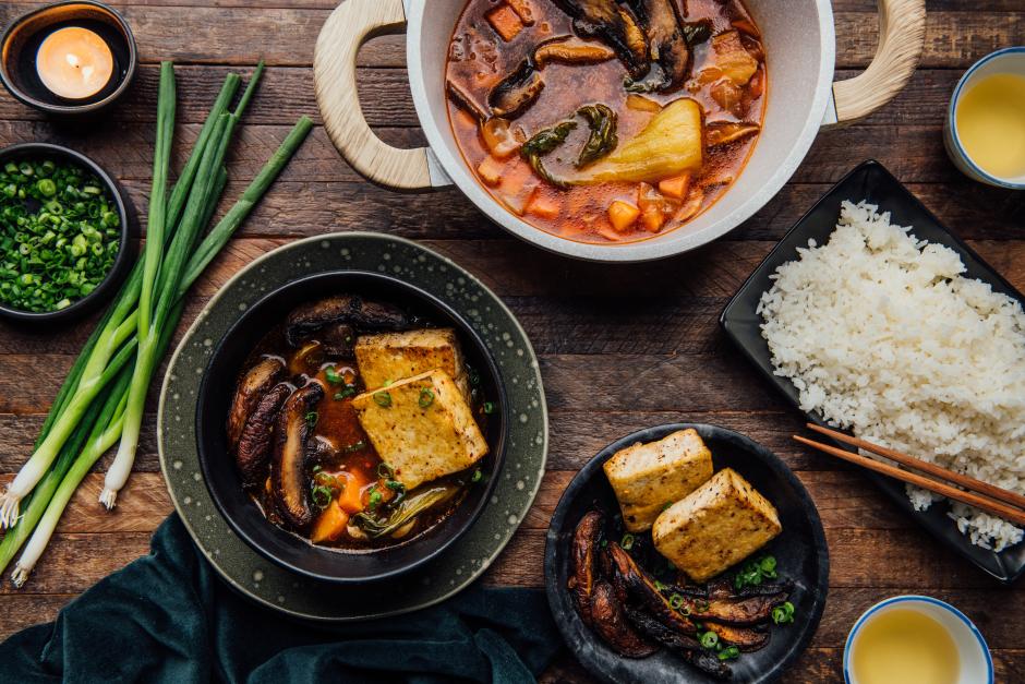 Korean-Style Jjigae Stew