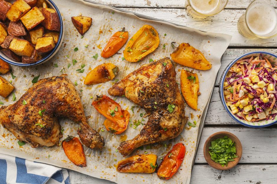Piri-Piri Confit Chicken