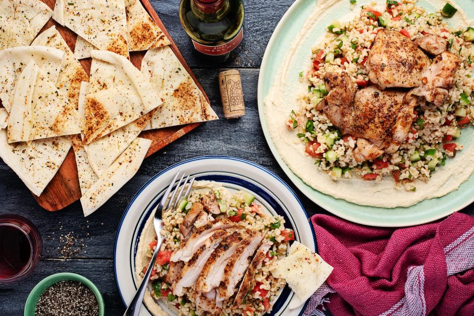 Chicken Mezze Platter