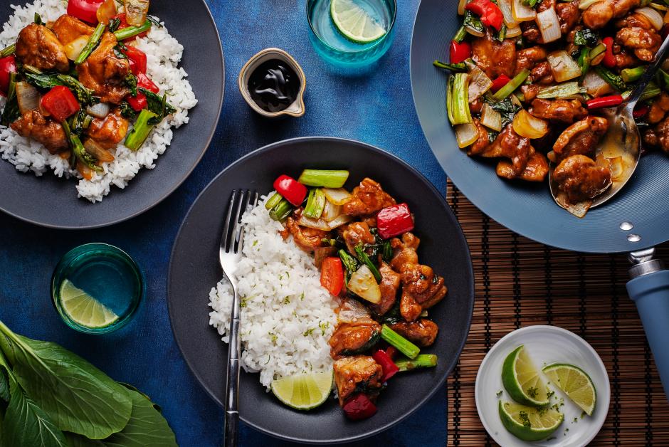 Sauté de poulet de style Mongolie