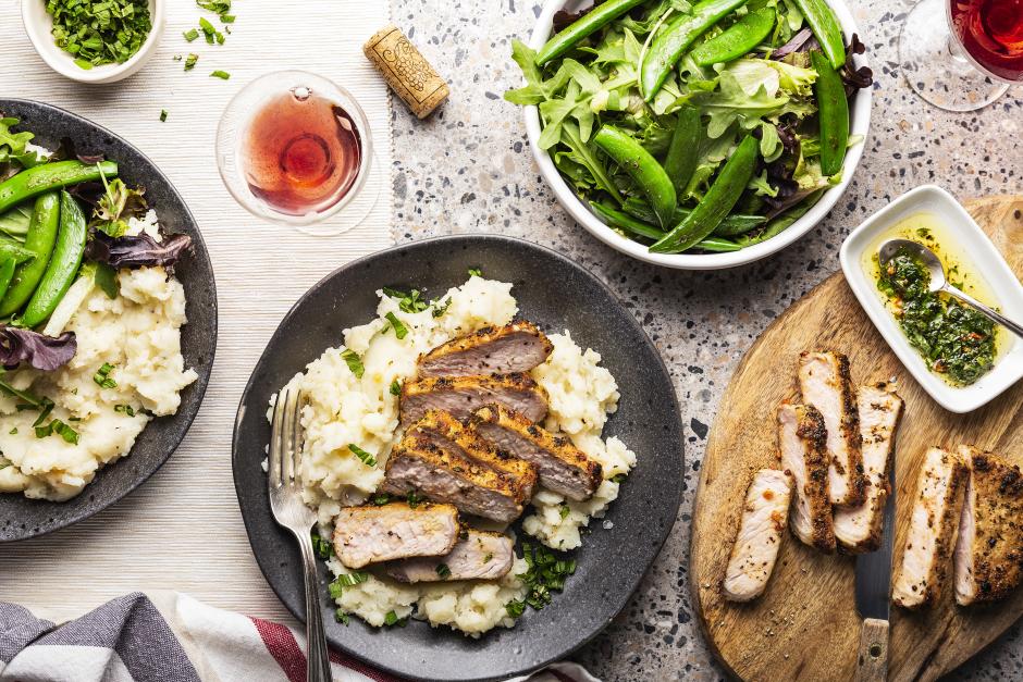 Seared Pork Chops