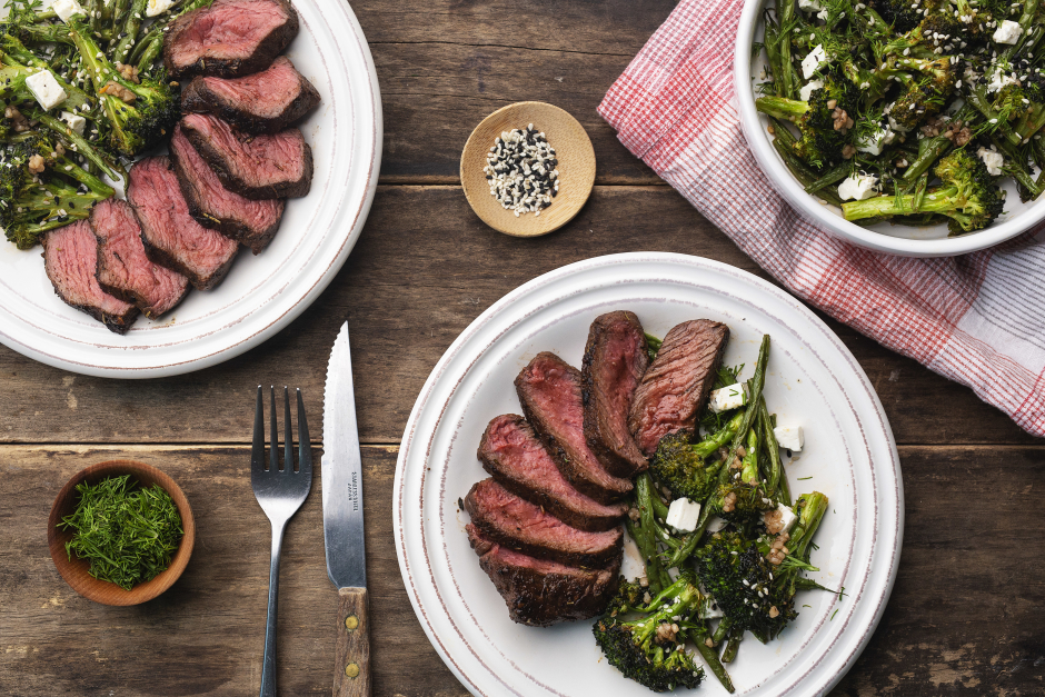 Spice-Rubbed Steaks