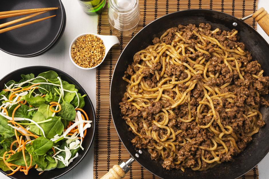 Shanghai-Style Beef Dan Dan Noodles