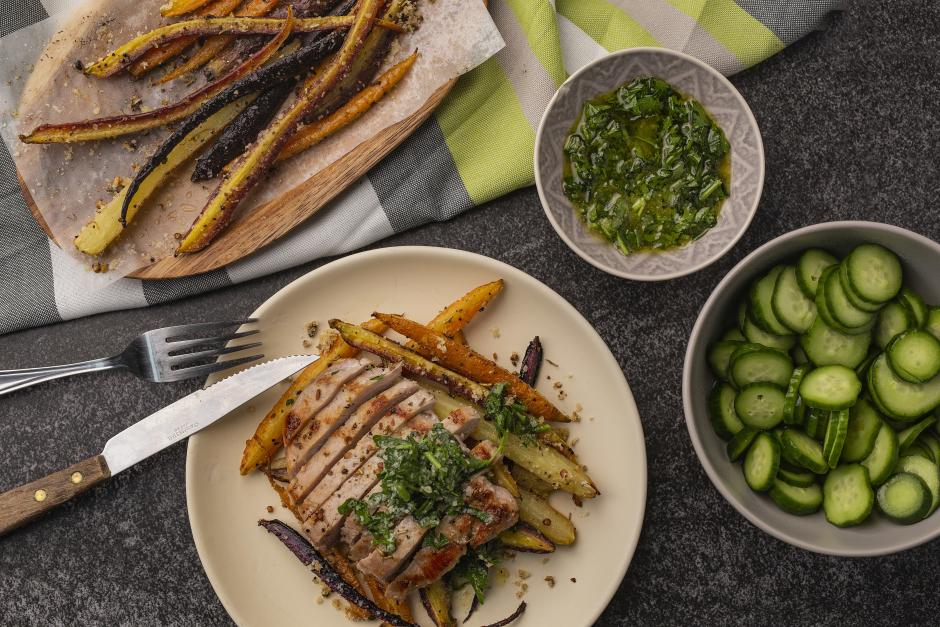 Porchetta-Spiced Pork Chops
