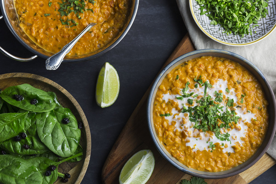 Coconut Curry Lentil Stew