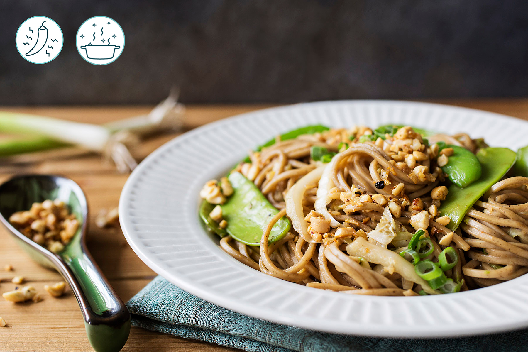 Sweet and Spicy Soba Noodles