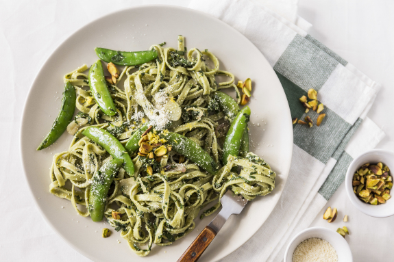 Fresh Spinach Linguine