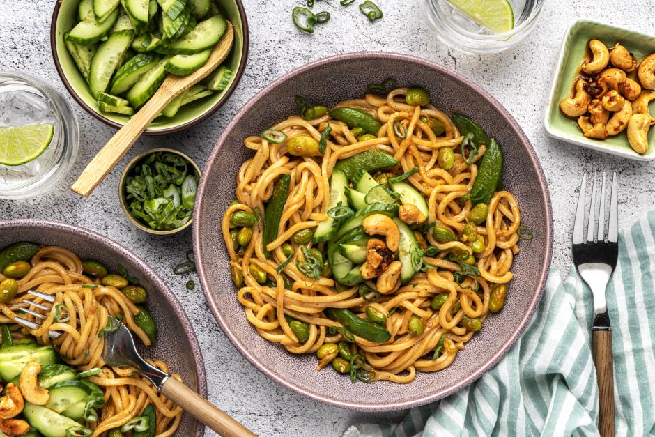 Sautéed Sesame Noodles