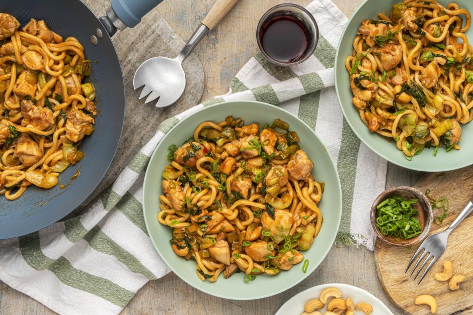 Spicy Chicken & Cashew Stir-Fry