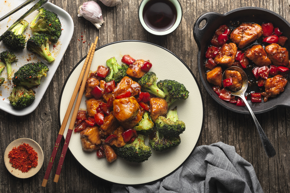 Pan 'Fried' General Tao Chicken