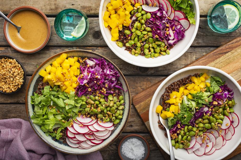 Quinoa Sunshine Bowls