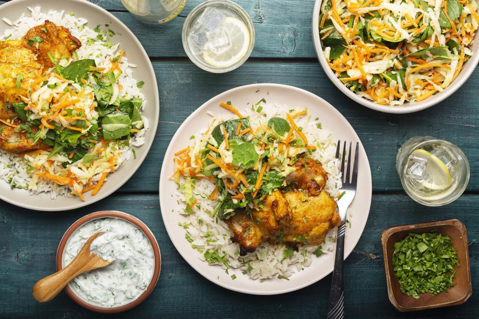 Broiled Chicken Tikka