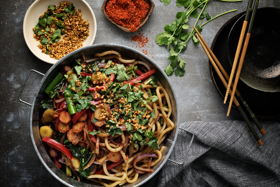 Mee Goreng with Fresh Shanghai Noodles
