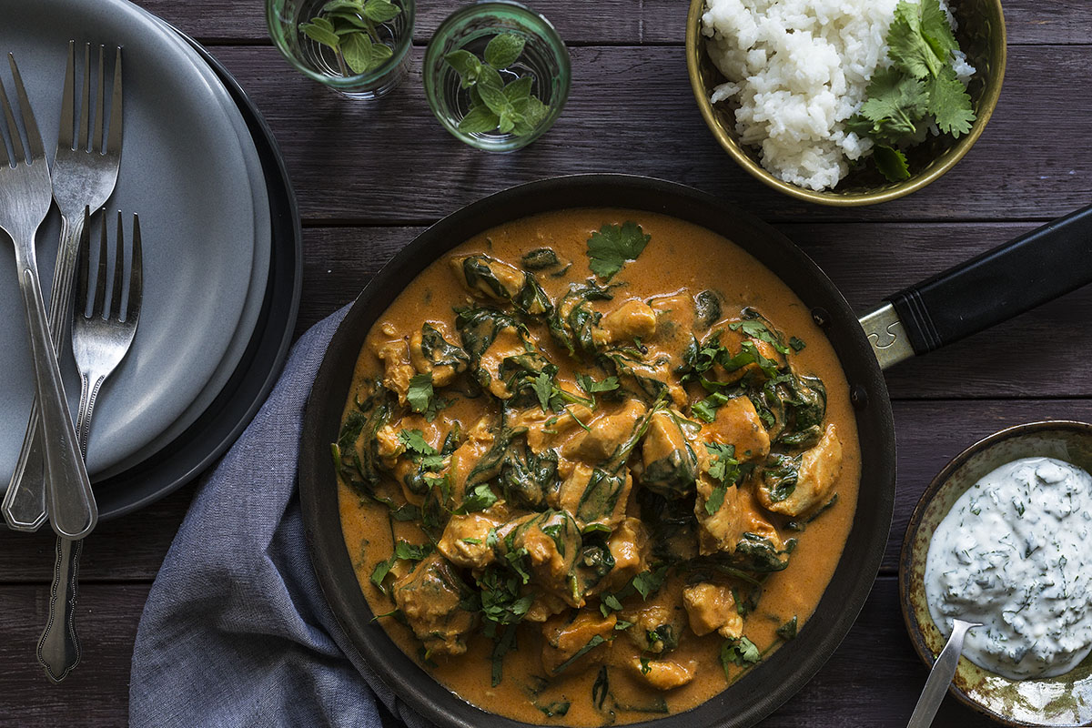 Coconut Butter Chicken