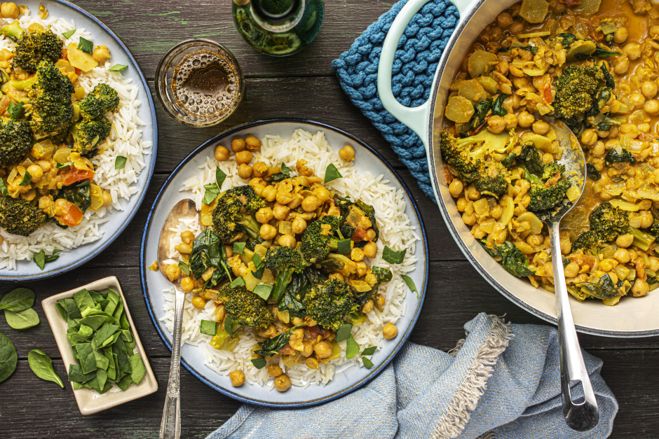 Chickpea & Broccoli Chana Masala