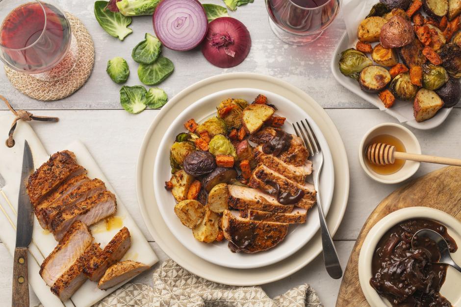 Agrodolce Pork Chops