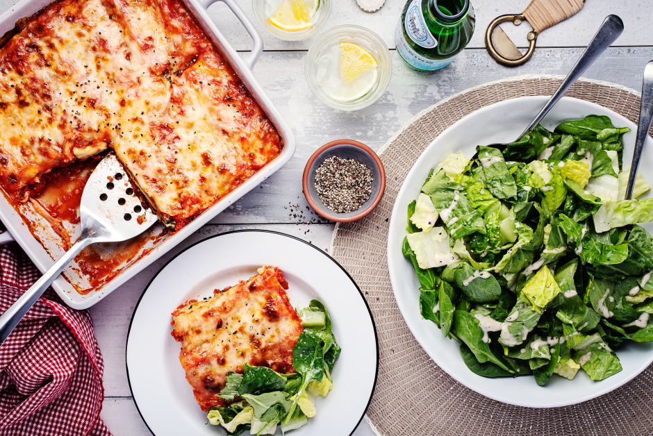 Ricotta & Squash Lasagna Roll-Ups