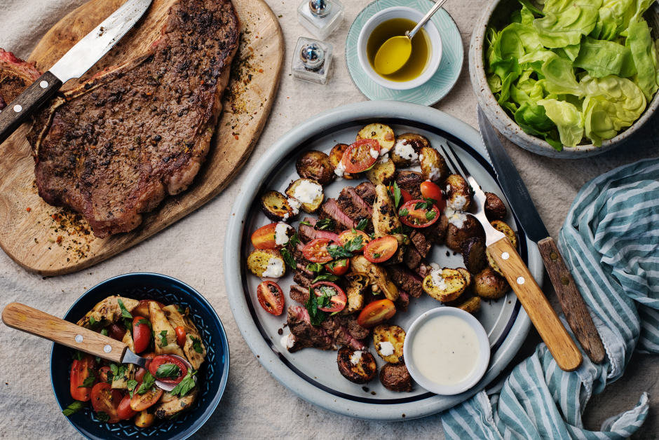 Sicilian-Style Porterhouse Steak