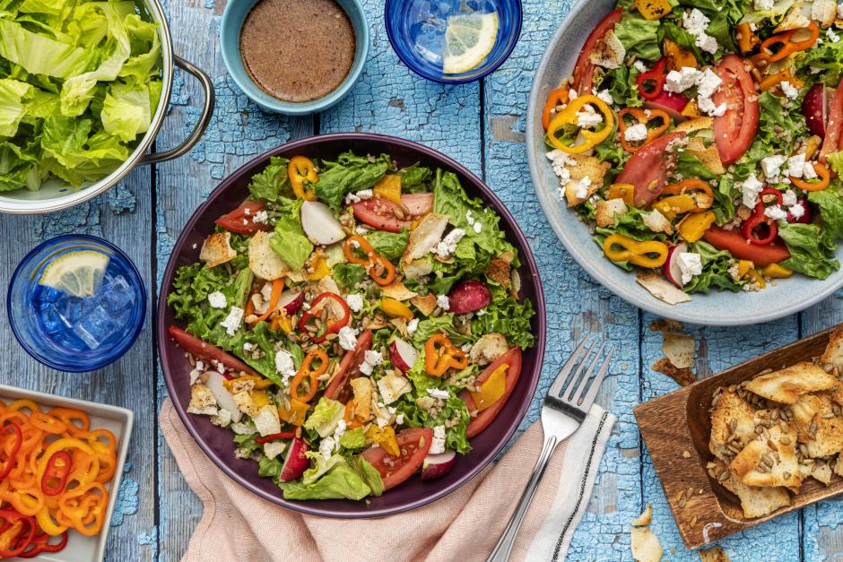 Fattoush Salad Supreme
