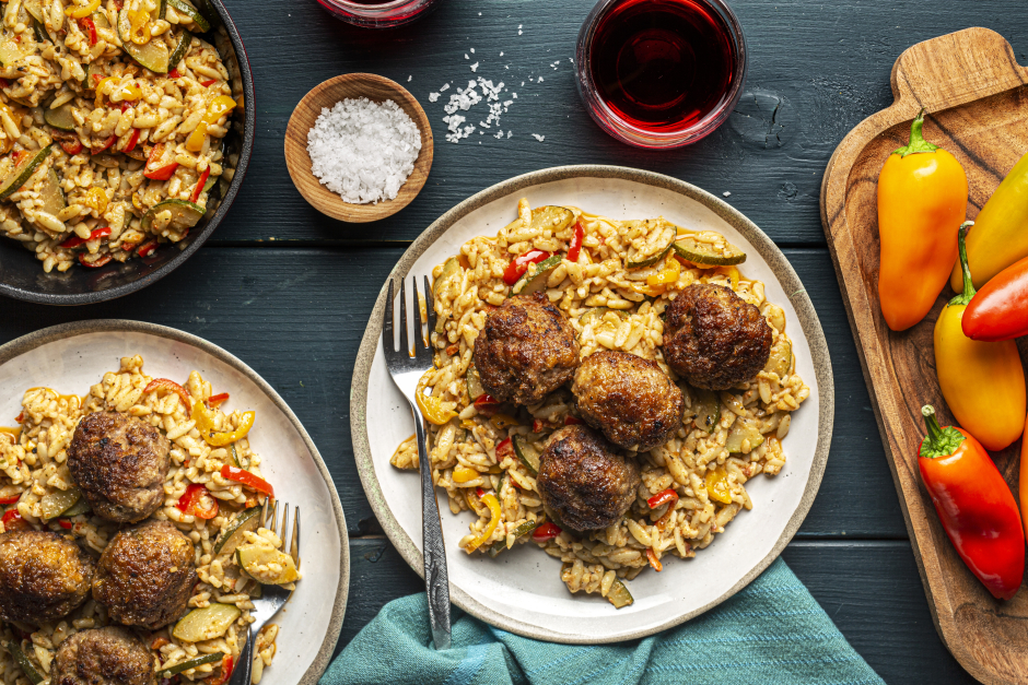 Pork & Ricotta Meatballs