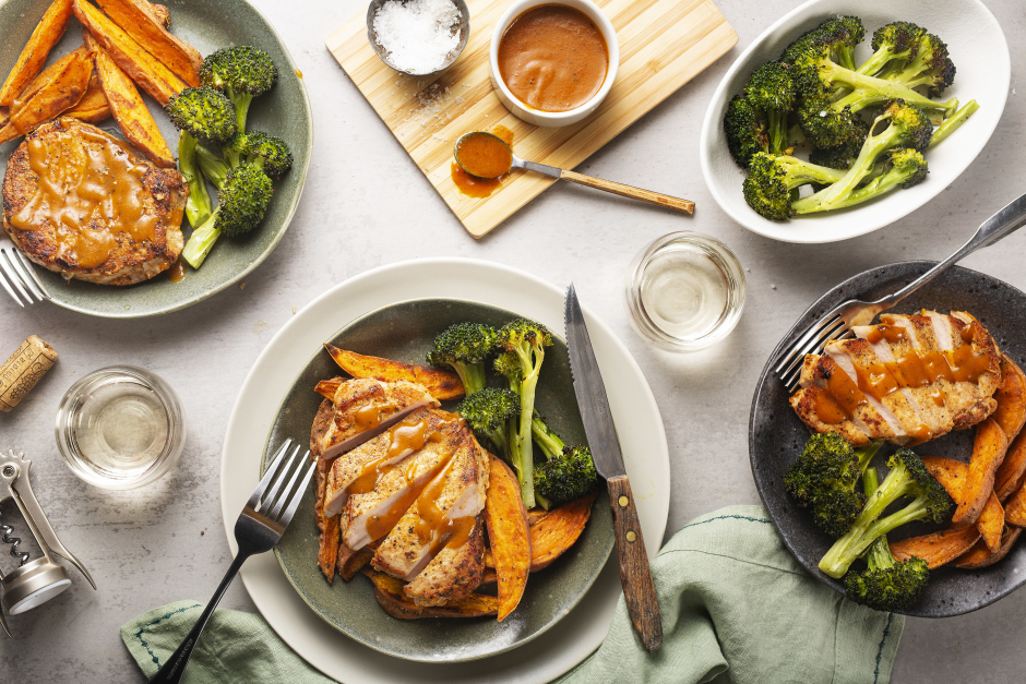 Maple-Curry Pork Chops