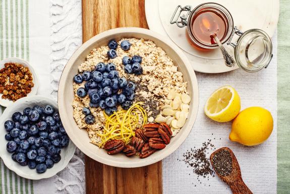 Blueberry Pecan Crunch