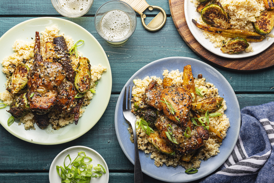 Berbere-Spiced Chicken
