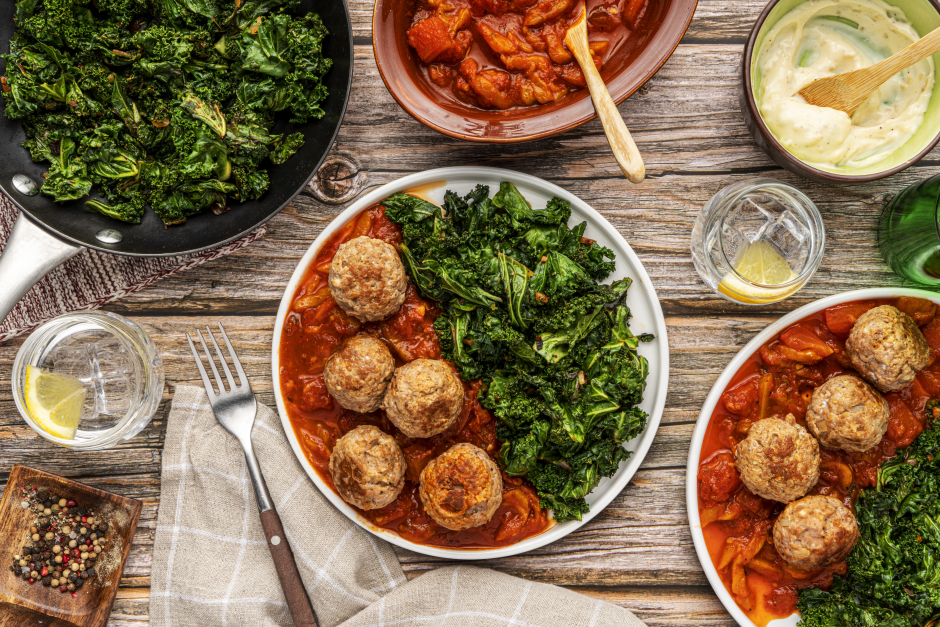 Smoky Spanish-Style Pork Meatballs