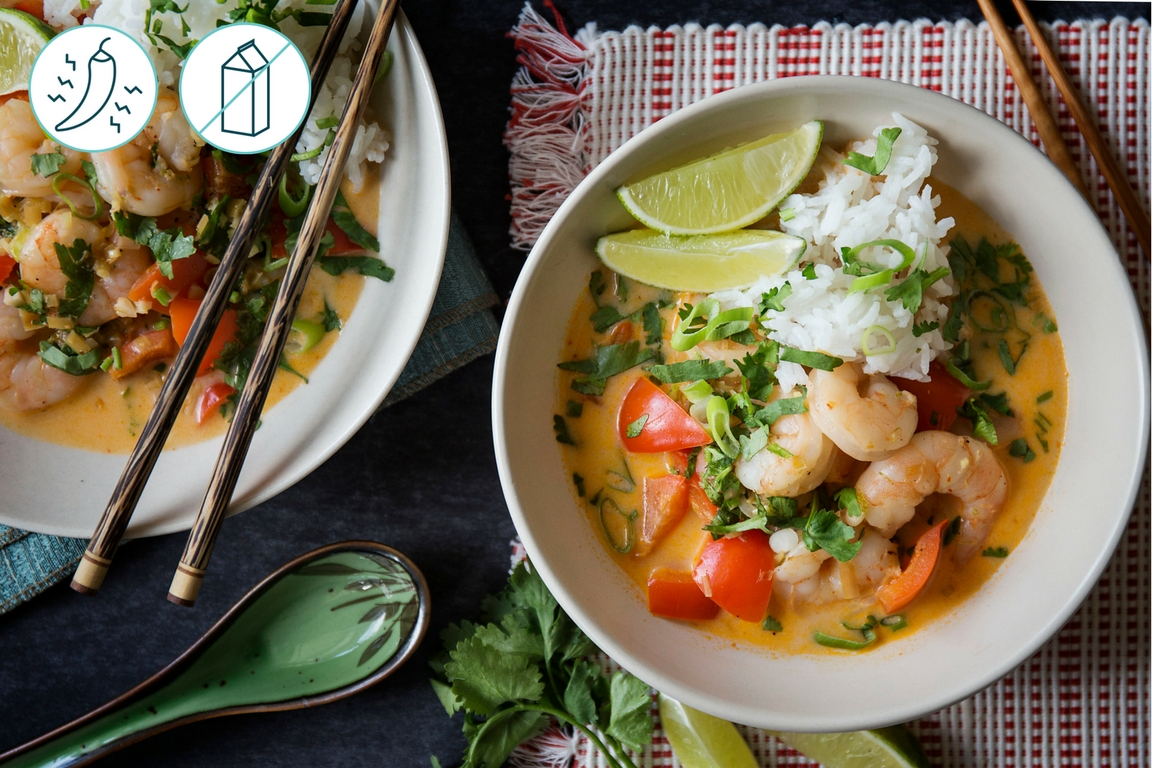 Thai Coco-Shrimp Soup