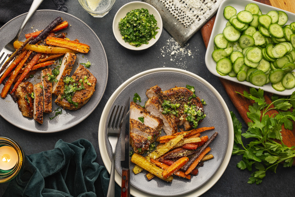 Italian-Spiced Pork Chops