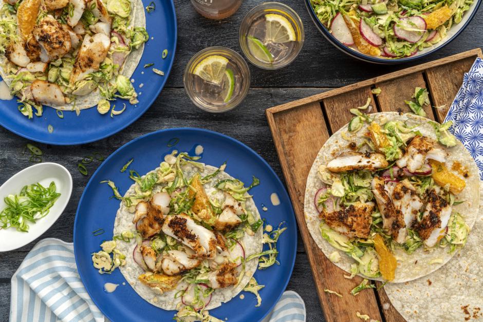 Spiced Cod Tacos