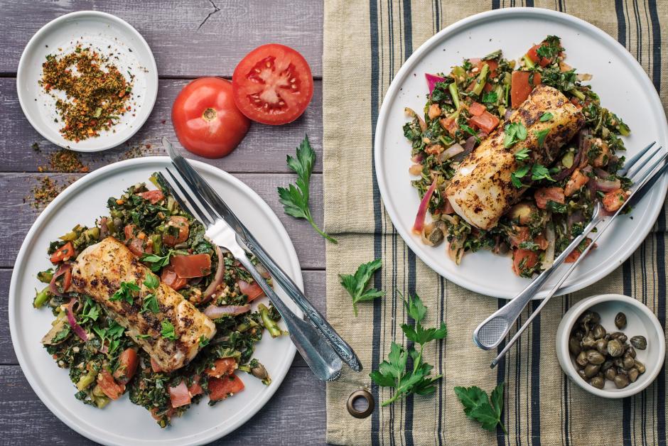 Provençal-style Spiced Cod