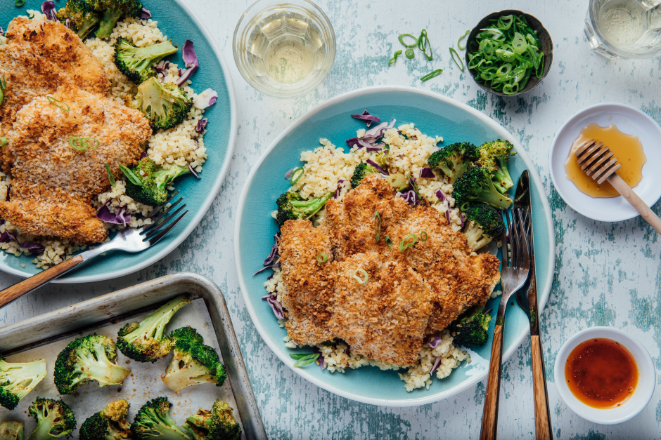 Oven-'Fried' Chicken Thighs