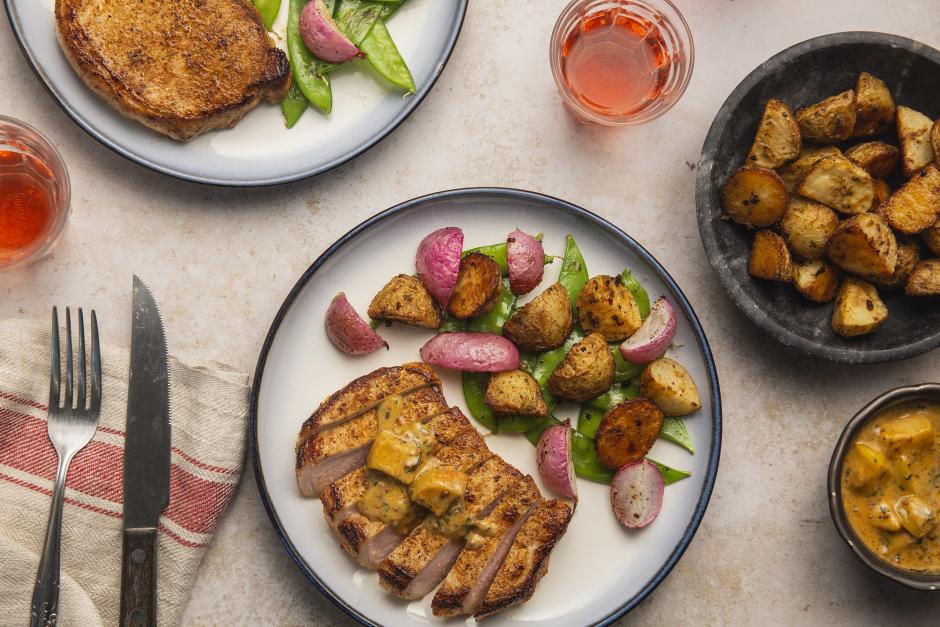 Normandy Apple Pork Chops