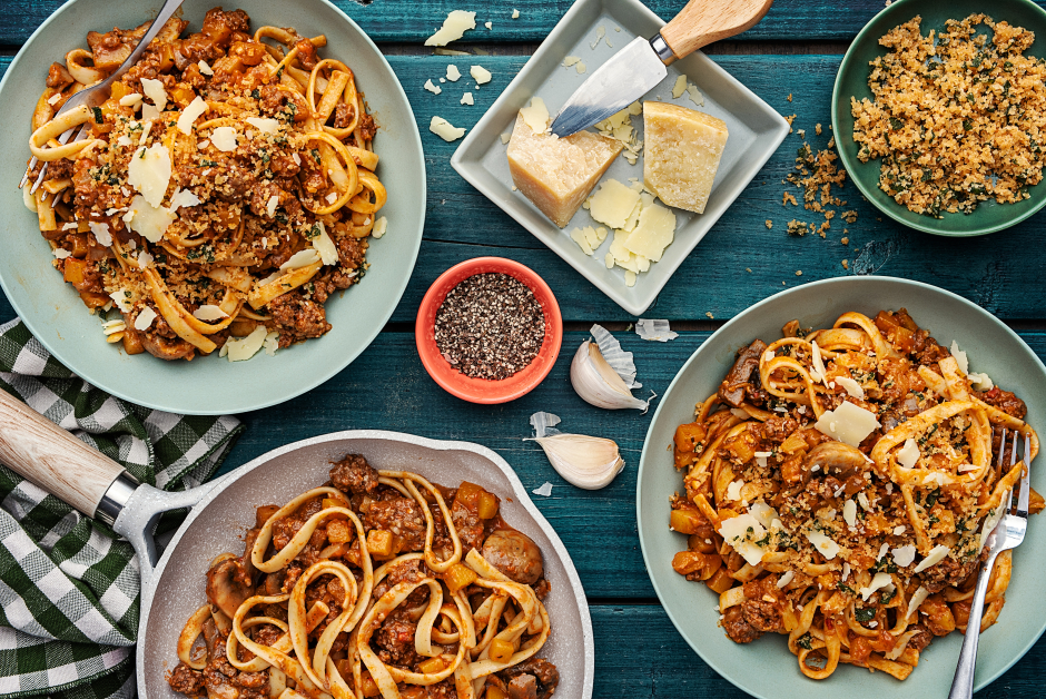 Ground Beef & Butternut Squash Bolognese