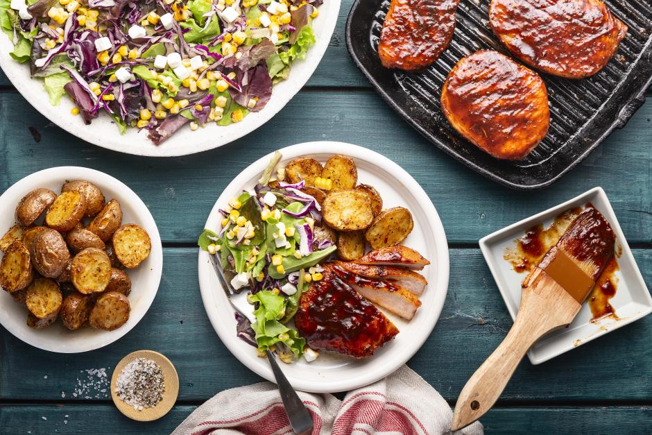 Smoky BBQ Pork Chops