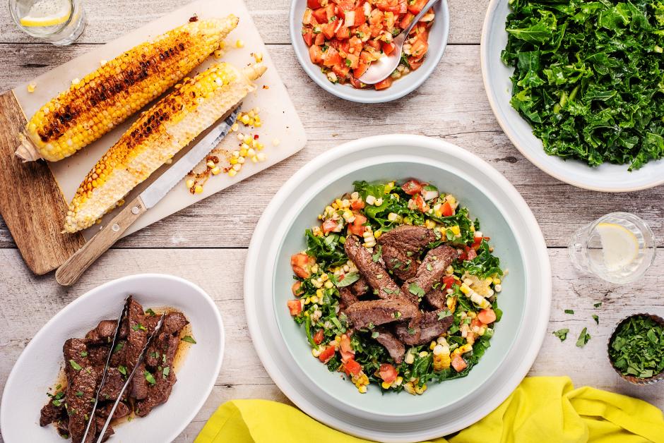Steak Strip Salad