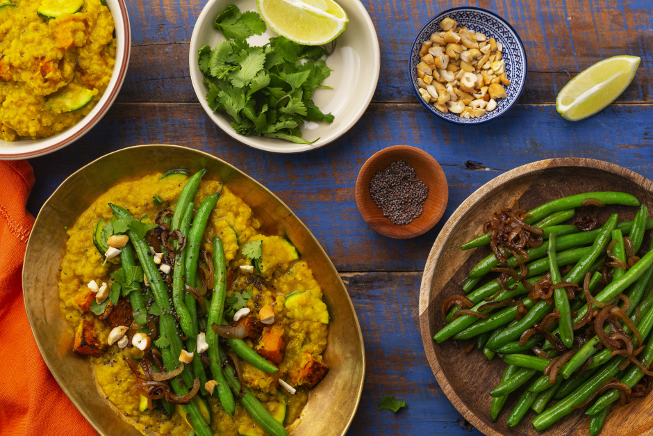 Roasted Butternut Squash Dahl