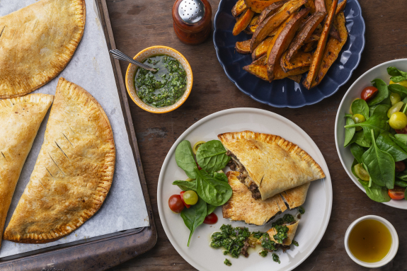 Beef & Applewood-Smoked Cheddar Hand Pies