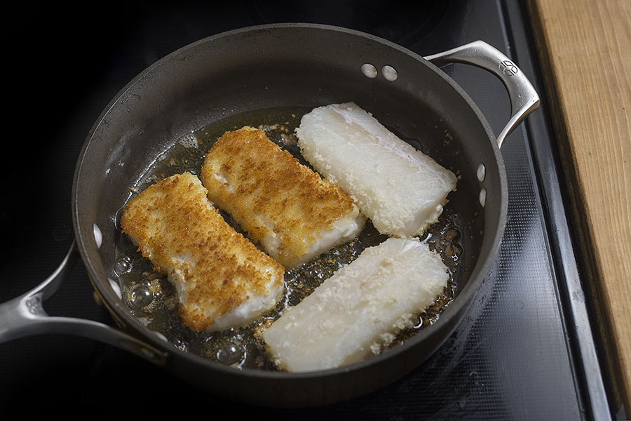 how to cook haddock with panko