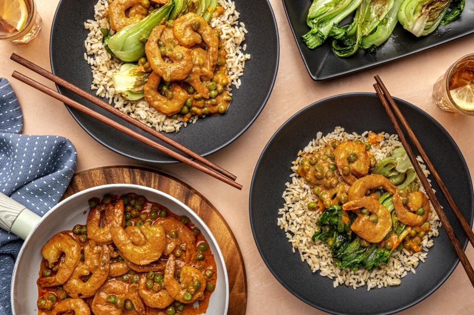 Quick Coconut Shrimp Curry