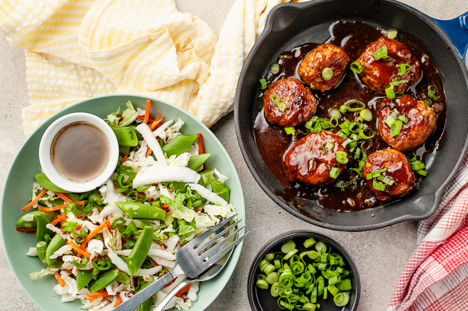 Hoisin Turkey Meatballs
